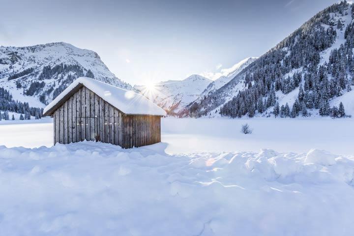 Gewicht von Schnee