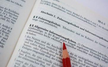 Telemediengesetz - Impressum