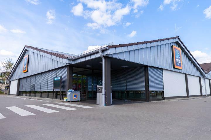 Umsatzrückgänge bei abseits gelegenen Supermärkten