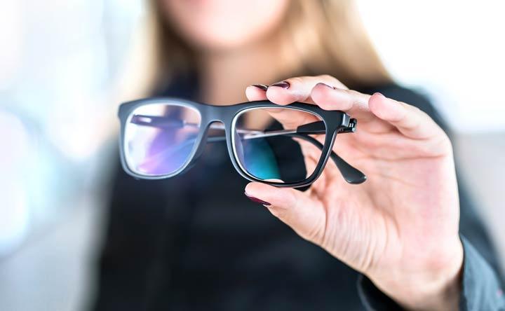 Besonderheiten Mineralglas Brillenglas