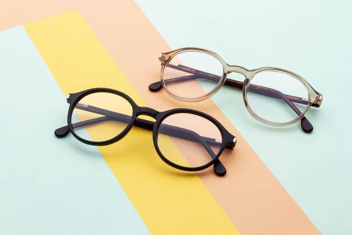 Brillenrahmen und Brillenglas