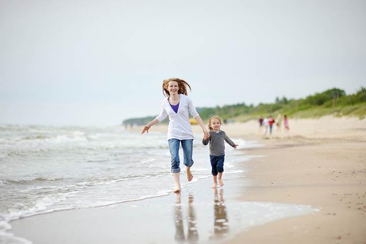 Die deutsche Ostseeküste ist hierzulande das beliebteste Reiseziel für Familien