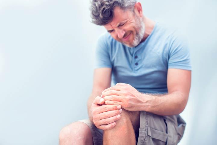 Knieschmerzen an der Vorderseite
