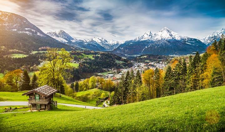 Oberbayern - Ideal für den Berg- und Winterurlaub