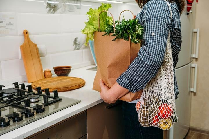 Ressourcen schonen durch loses Gemüse