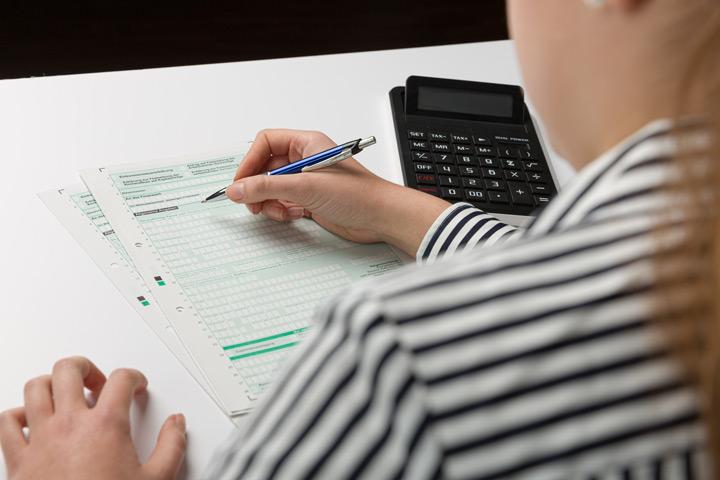 Steuererklärung Formen