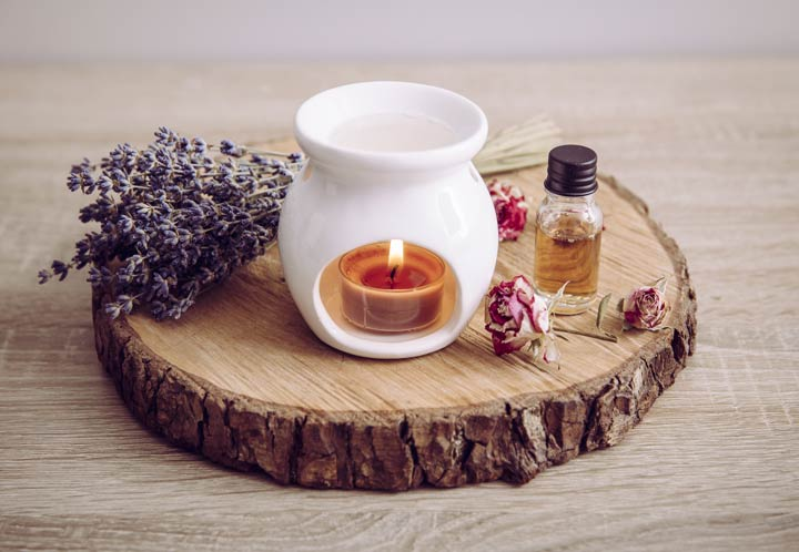 Ätherische Öle für die Duftlampe