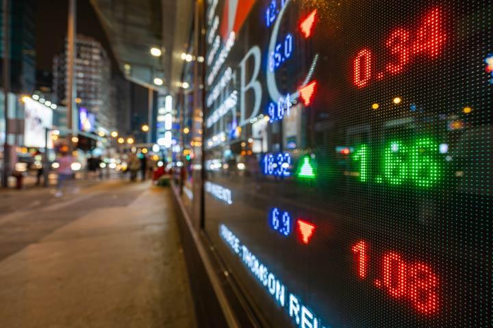Börse in Hong Kong