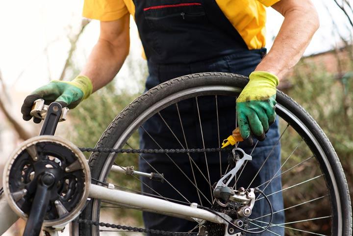 Fahrradketten-Check