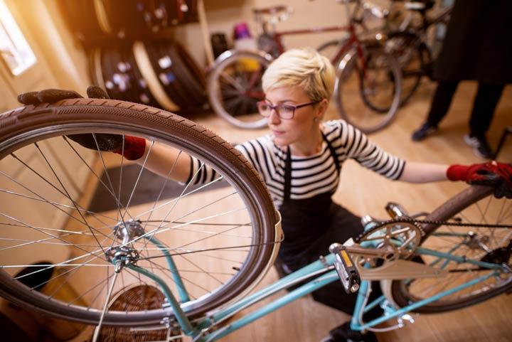 Reifencheck - Fahrrad