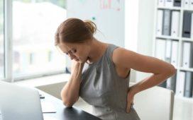 Rückenschmerzen am PC