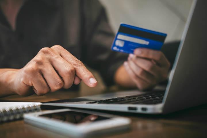 Sichere Bezahlmethode wählen