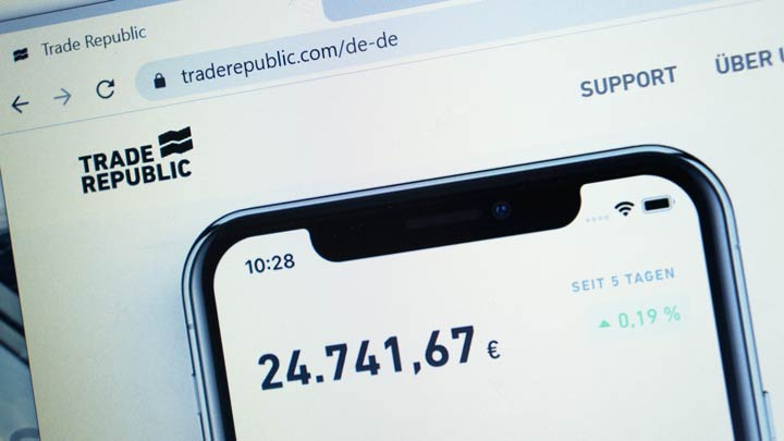 Trade Republic App