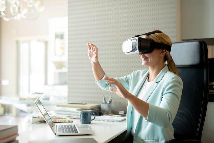 VR-Technologie