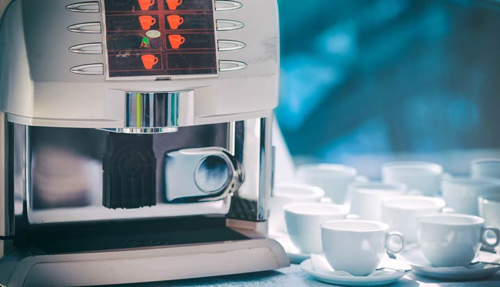 Direktwahltasten Kaffeevollautomaten