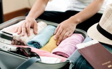 Flugreise vorbereiten