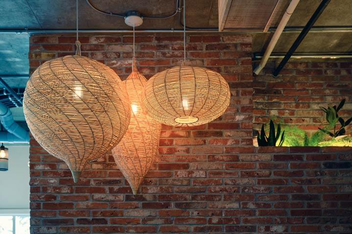 Lampen aus natürlichen Werkstoffen