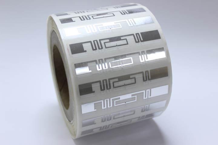 RFID Chips auf einer Rolle