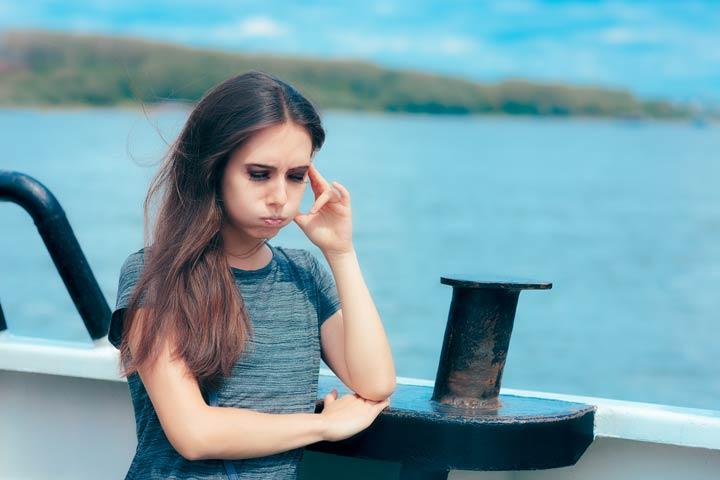 Symptome der Reisekrankheit