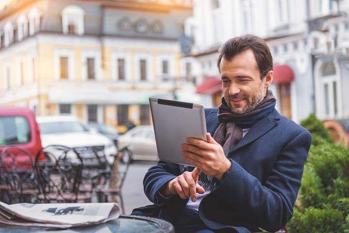 Vorteil der Online-Nutzung von Nachrichten