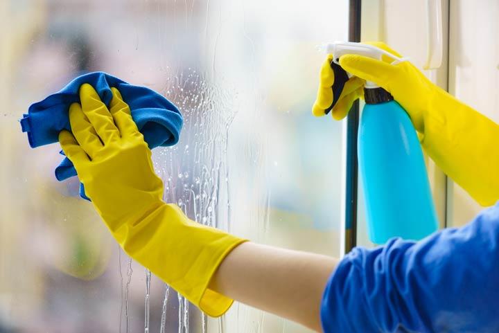 Wann Fenster putzen?