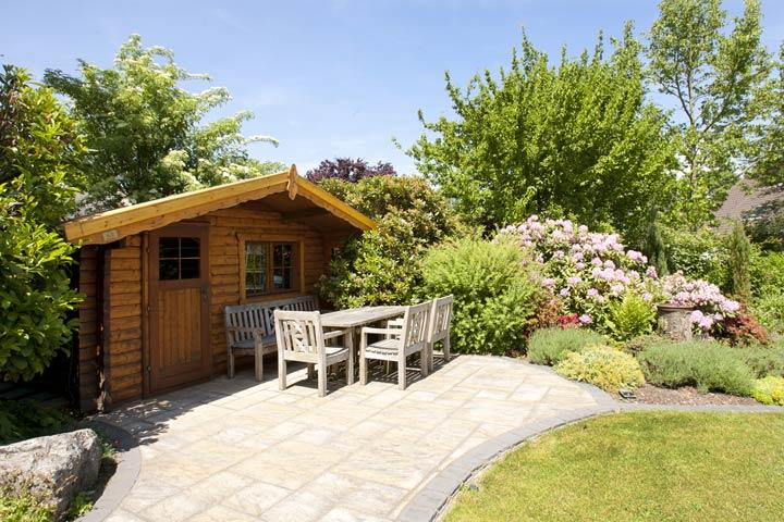 Bewohnbares Gartenhaus