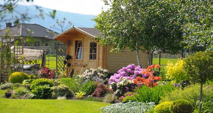 Gartenhaus als Allrounder
