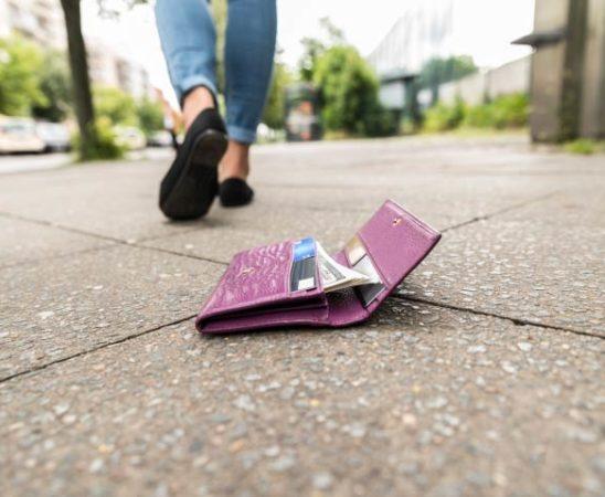 Portemonnaie verloren