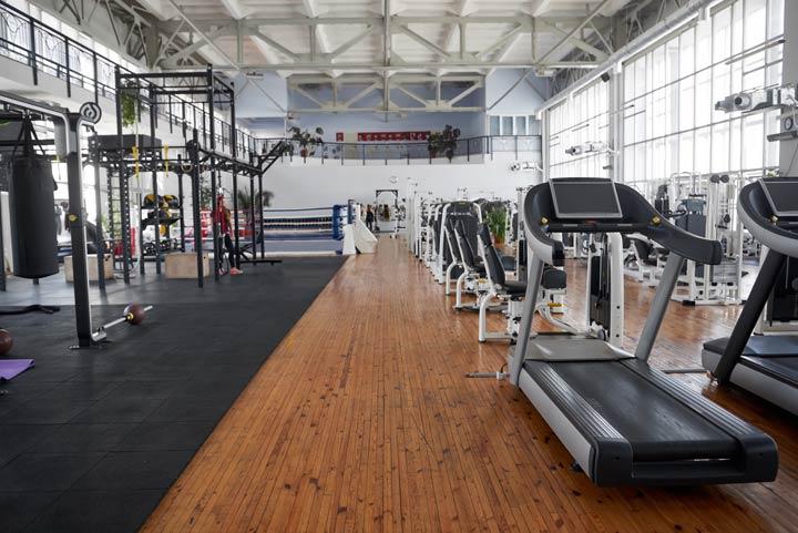 Angebot des Fitnessstudios