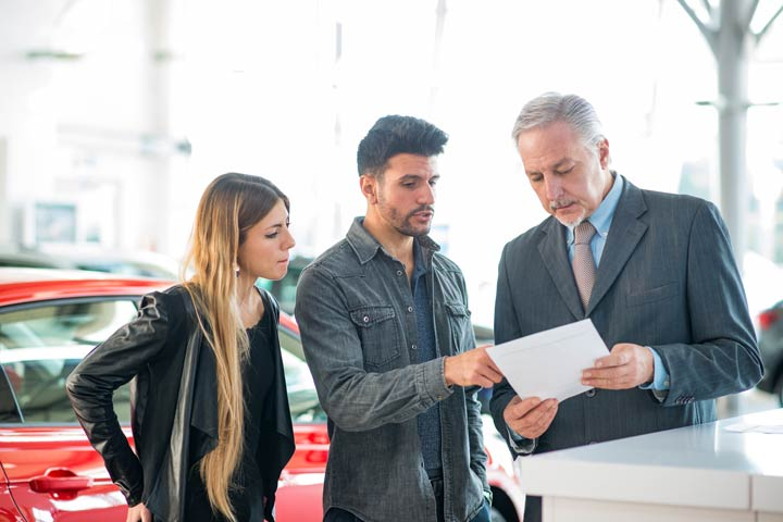 Gebrauchtwagen an Händler verkaufen