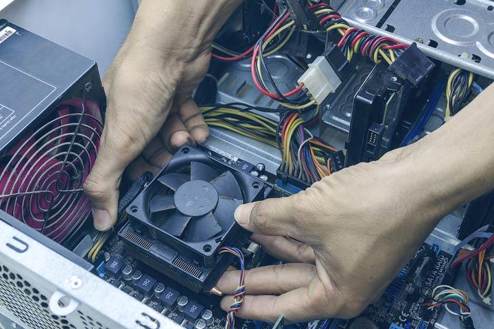Prozessorkühler reinigen