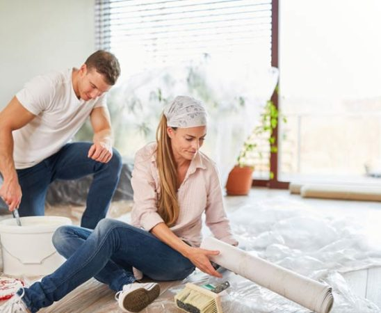 Renovierung der eigenen Wände