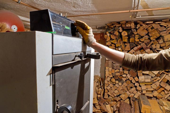 Holzheizung