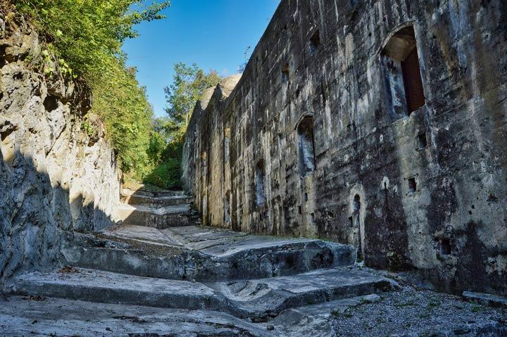 Militärgebäude Monte Brione