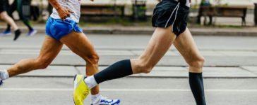 Kompressionsstrümpfe beim Sport