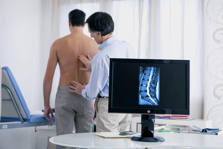 Diagnose Bandscheibenvorfall