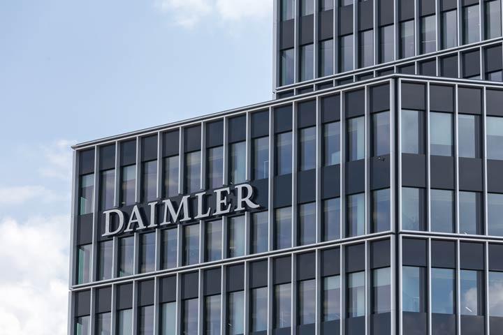 Autobauer Daimler