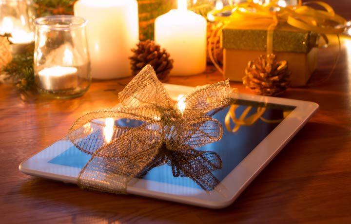 Elektronik als Weihnachtsgeschenke